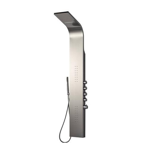 Douchepaneel Best Design Bridel Thermostatisch 160 x 22 cm RVS-304