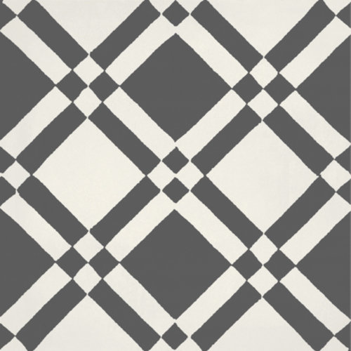Portugese Vloertegel Jos Hidro Almost Square Black 19.7x19.7 cm  (prijs p/m2)