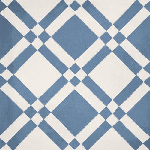 Portugese Vloertegel Jos Hidro Almost Square Blauw 19.7x19.7 cm (prijs p/m2)