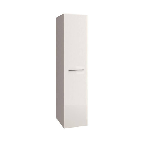 Kolomkast Allibert Verone 40x156x37 cm Gelakt MDF White Glossy