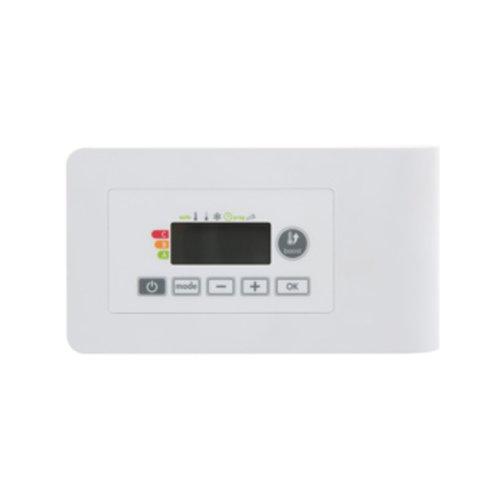 Vasco E-Volve E-V regelelement v/elektrische radiator wit ral 9016 118400500009016