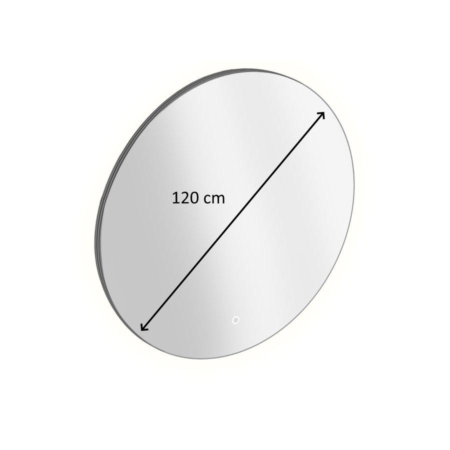 Badkamerspiegel Rond met LED-Verlichting Xenz Salo 120 cm