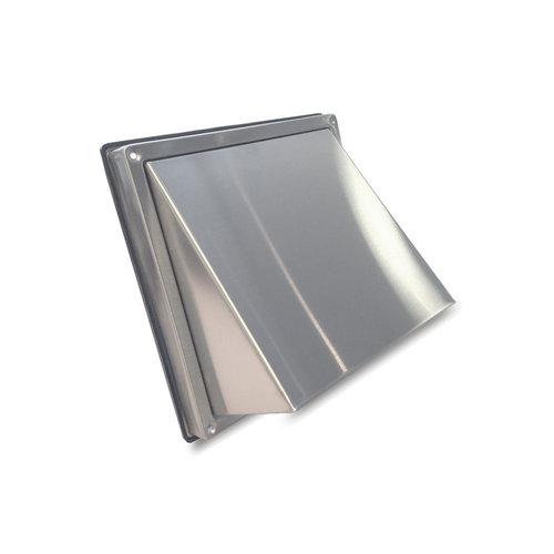 Gevelkap BWS Ventilatie Aansluitmaat Ø 100 mm Met Klep RVS