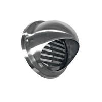 Bolrooster BWS Ventilatie Aansluitmaat Ø 150 mm Met Muggengaas RVS