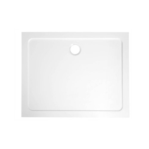 Douchebak Marmer Sapho Aqualine 120x90x3 cm Rechthoek Wit