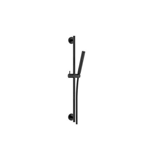 Glijstangset Plieger Napoli Met Handdouche Staafmodel 1 Stand Doucheslang 150cm En Glijstang 60cm Zwart