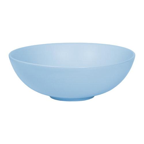Opbouw Waskom Topa Pastello Azzuro Keramiek 40x14.5 cm Licht Blauw