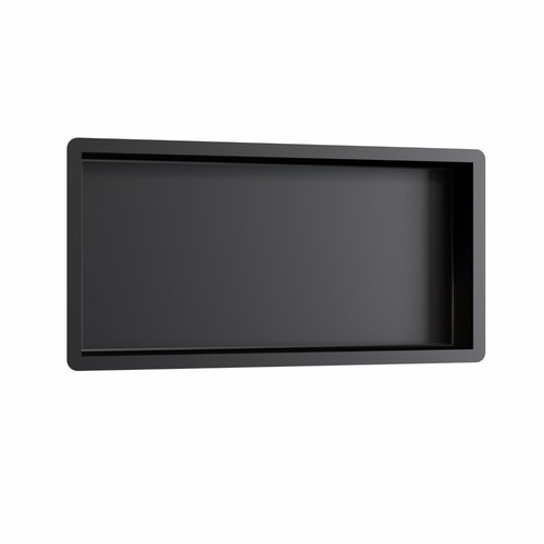 Inbouwnis Brauer Box Met Flens 30x60cm Zwart