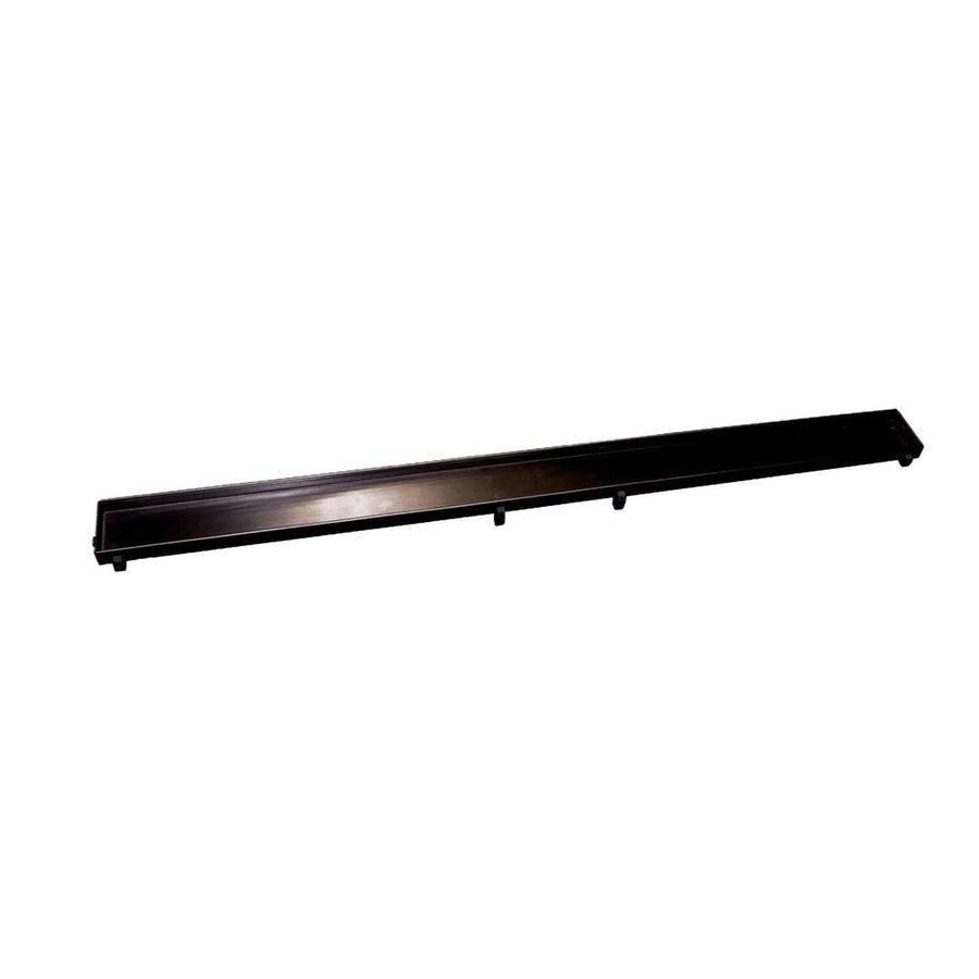Tegelrooster t.b.v. Sanilux Douchegoot 60 cm Mat Zwart