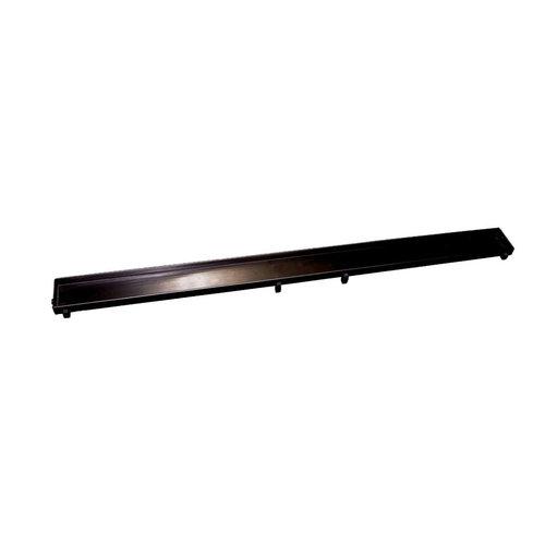 Tegelrooster t.b.v. Sanilux Douchegoot 90 cm Mat Zwart