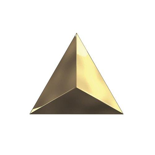Wandtegel Zyx Metallic Level Gold Gloss 15x17 cm Glans Goud (Per Doos)