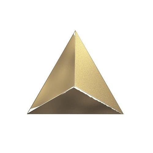 Wandtegel Zyx Metallic Level Gold Laser 15x17 cm Goud (Per Doos)