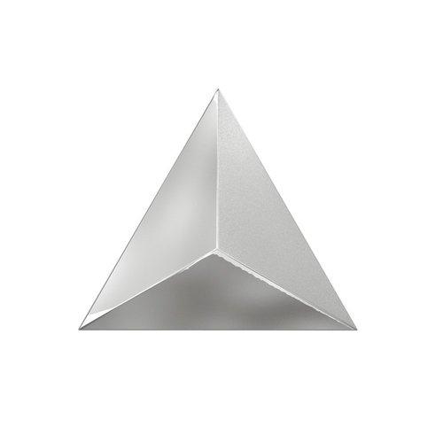 Wandtegel Zyx Metallic Level Silver Laser 15x17 cm Zilver (Per Doos)