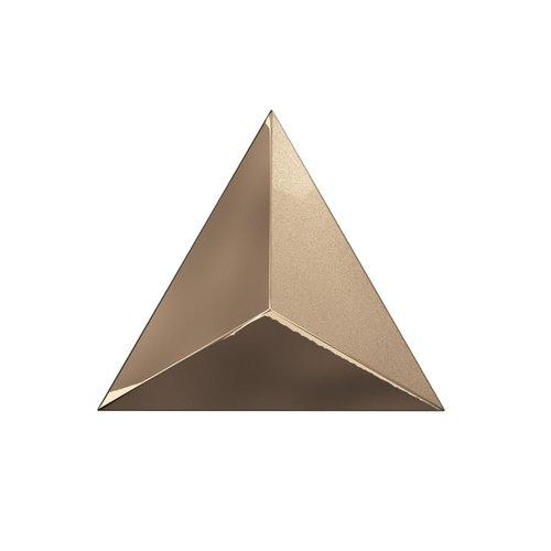 Wandtegel Zyx Metallic Level Copper Laser 15x17 cm Koper (Per Doos)