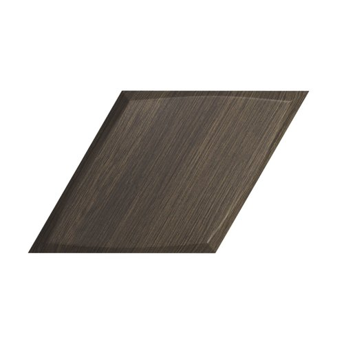 Wandtegel Zyx Diamond Zoom Walnut Wood 15x25.9 cm Donker Hout