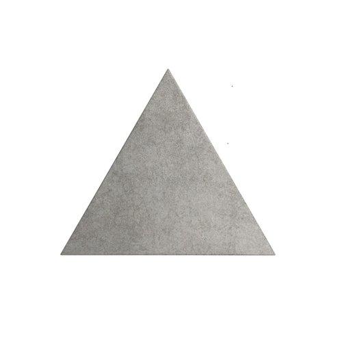 Wandtegel Zyx Triangle Layer Cement Matt 15x17 cm Mat Grijs