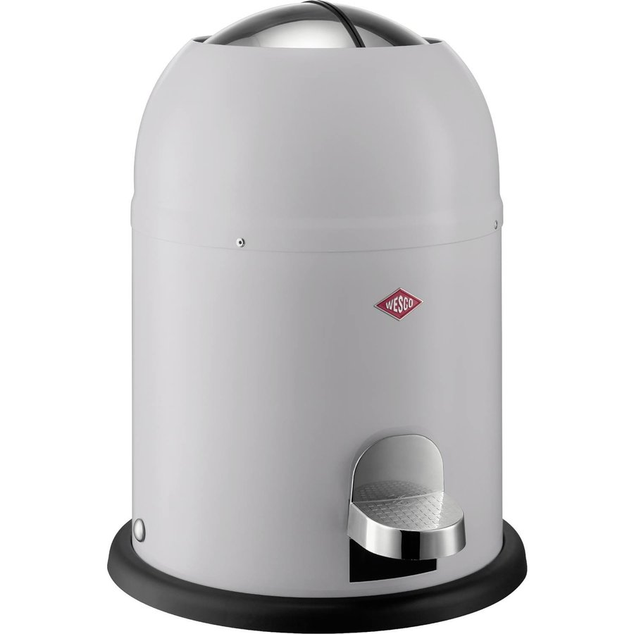Afvalemmer Wesco Single Master 9 Liter Grijs