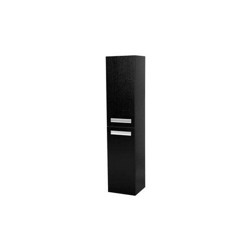 Hoge Kast IQ160 Exclusive Line 160x35x35 Black Wood