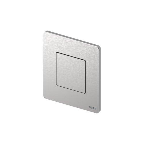 Urinoir Bedieningsplaat TECE Solid 10,4x12,4 cm RVS Geborsteld inclusief Cartouche en Beschermlaag