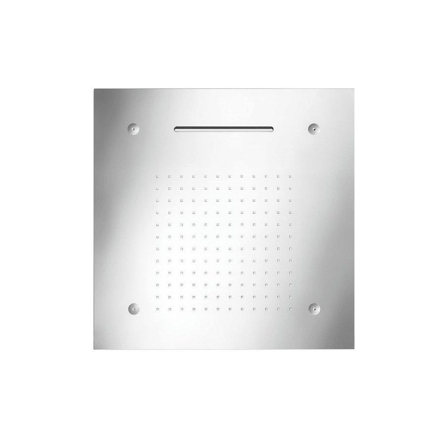 Hoofddouche met LED-Verlichting Herzbach Living Spa Gepolijst Chroom (drie standen)
