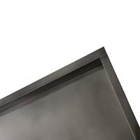 Inbouwnis Wiesbaden 30x60x10 cm RVS Black Chrome