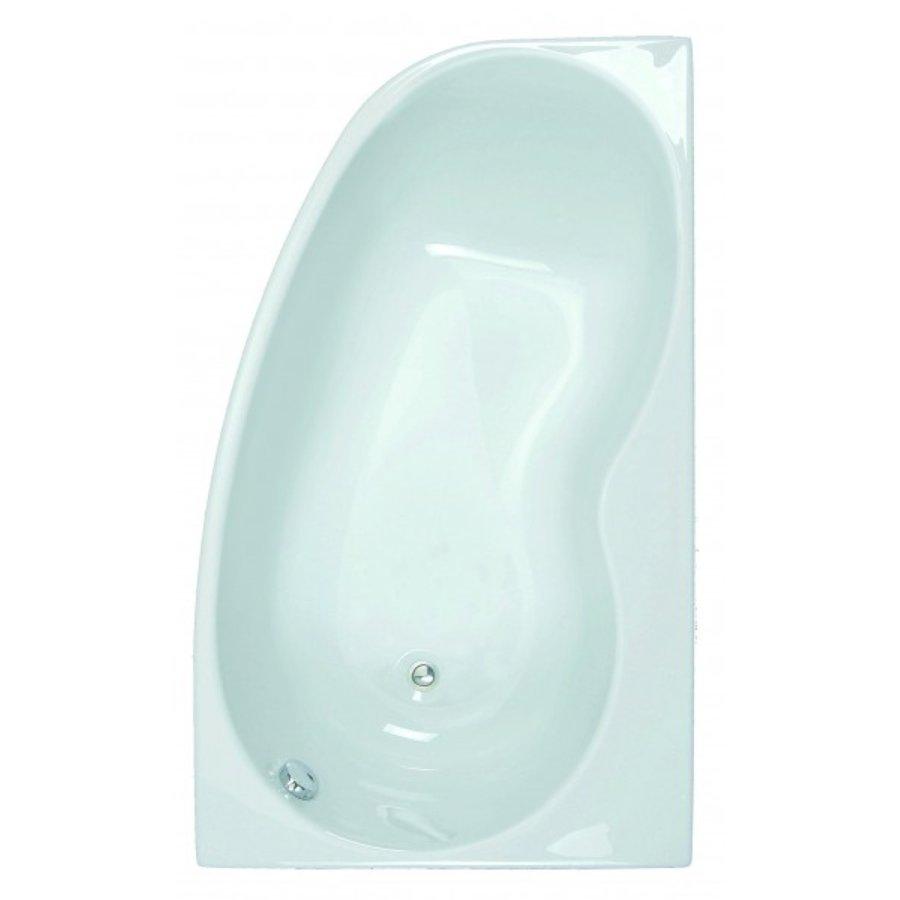 Allibert Asymmetrisch Bad Links Jacana 150x90x55 cm