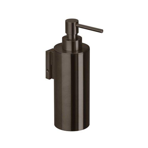 Zeepdispenser voor Wandmontage Herzbach Design IX PVD-Coating Zwart