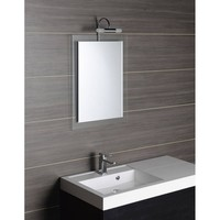Badkamerspiegel Sapho Mere 50x70 cm met Glazen Omlijsting
