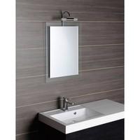 Badkamerspiegel Sapho Mere 60x70 cm met Glazen Omlijsting