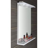 Badkamerspiegel Sapho Korin 60x70x12 cm Incl. Planchet en LED Verlichting / Stopcontact