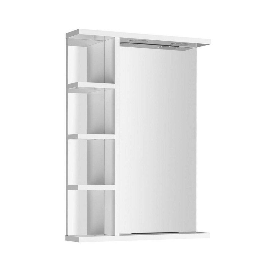 Badkamerspiegel Sapho Korin 52x70x12 cm Incl. LED Verlichting en Planken