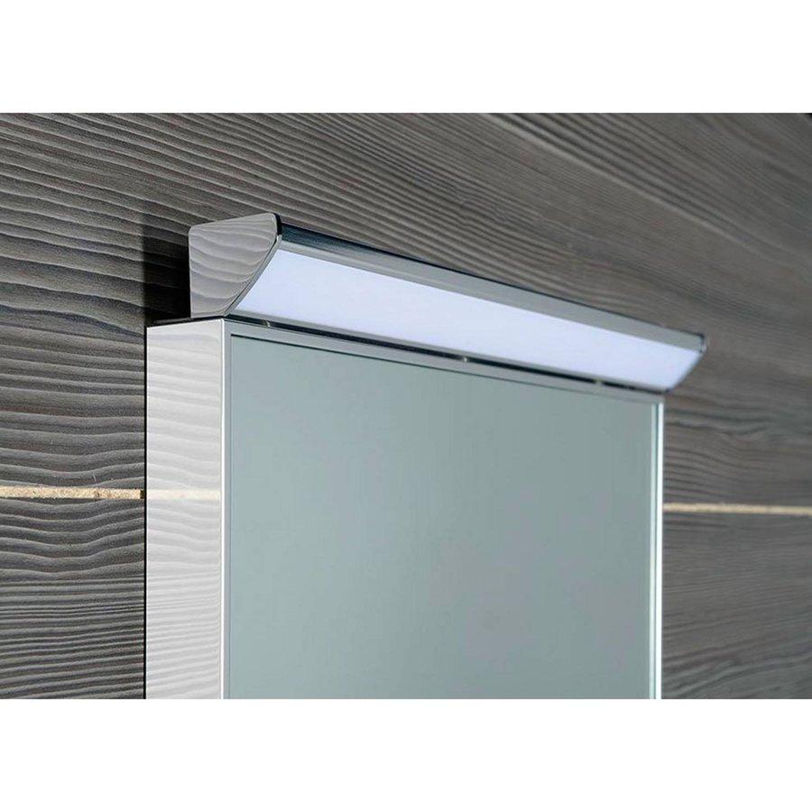 Badkamerspiegel LED Sapho Bora 40x60 cm Ingelijst met Schakelaar