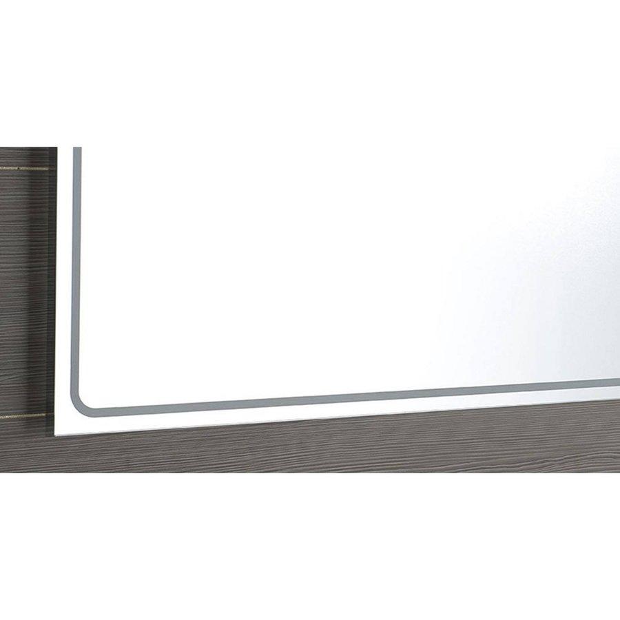 Badkamerspiegel Sapho Gemini II 100x70 cm LED-Strips