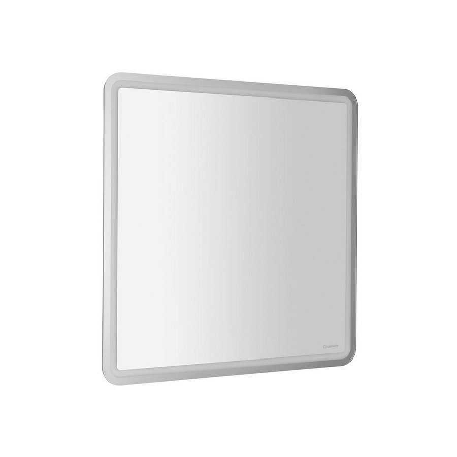Badkamerspiegel Sapho NYX 80x80 cm LED-Strips