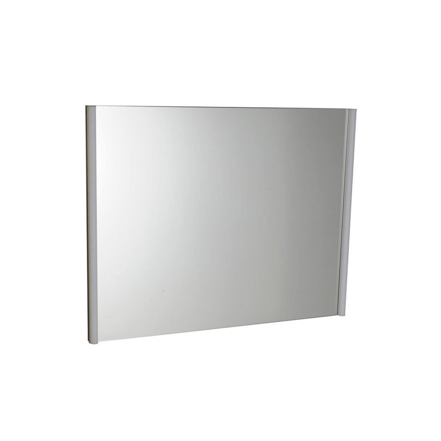 Badkamerspiegel Sapho Alix 100x74.5x5 cm Verticale LED-Verlichting