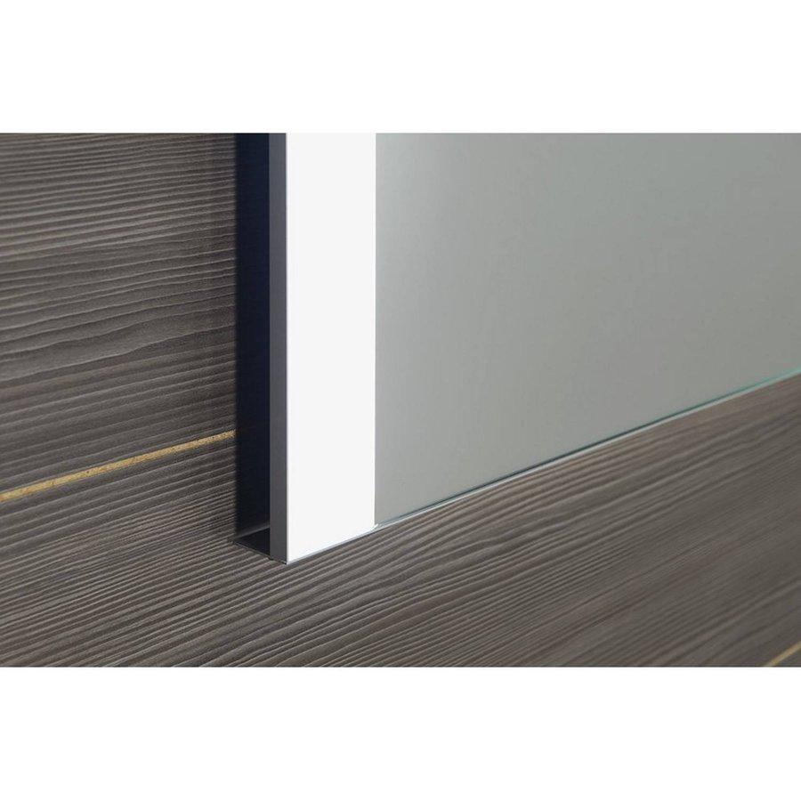Badkamerspiegel Sapho Durango 100x70 cm LED-Verlichting Contactloze Sensor