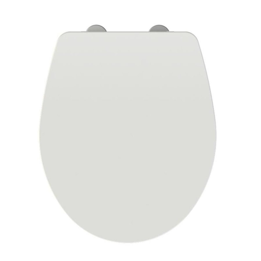 Allibert Toiletzitting Slimeo 37,1x5x44,8 cm Glanzend Wit