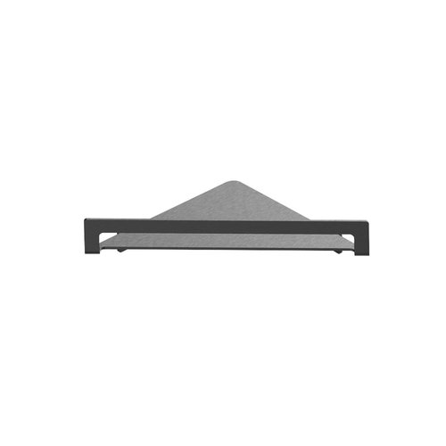 Hoekplanchet Herzbach Design IX PVD-Coating 21,6 cm Zwart