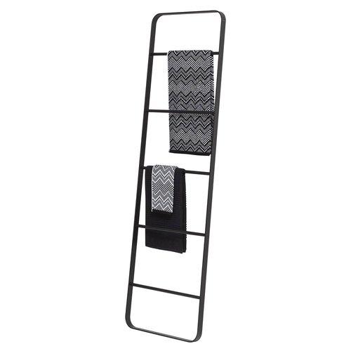 Handdoek Ladder Tiger Brix 170x50 cm Zwart