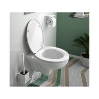 Allibert Toiletzitting 37,5x5,5x44,8 cm Wit