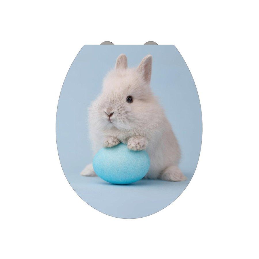 Allibert Toiletzitting Bunny decor