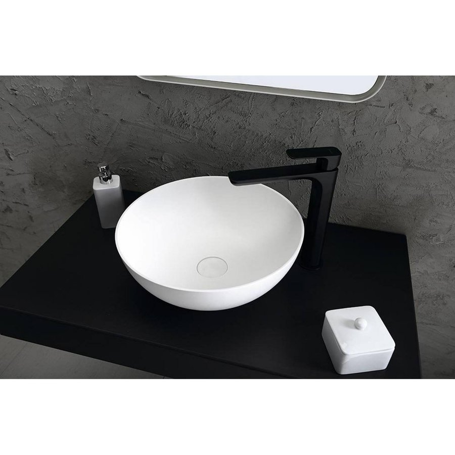 Accessoires Potje Sapho Sylvia Vrijstaand 7.9x10 cm Keramiek Wit