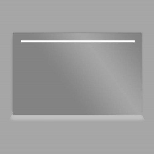 Spiegel 120cm Aluminium met LED Verlichting en schakelaar