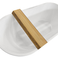 Badplank Boss & Wessing Wood Planchet 80x20x5 cm Badrek Eikenhout