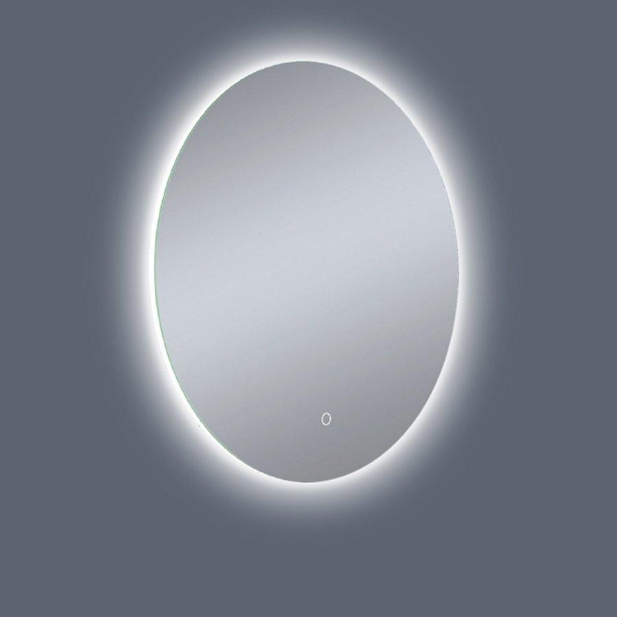 Badkamerspiegel Rond Boss & Wessing Anima LED Verlichting en Spiegelverwarming 60 cm