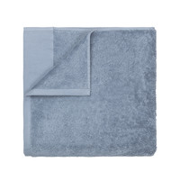 Badlaken Blomus Riva 70x140 cm Organisch Katoen Ashley Blue