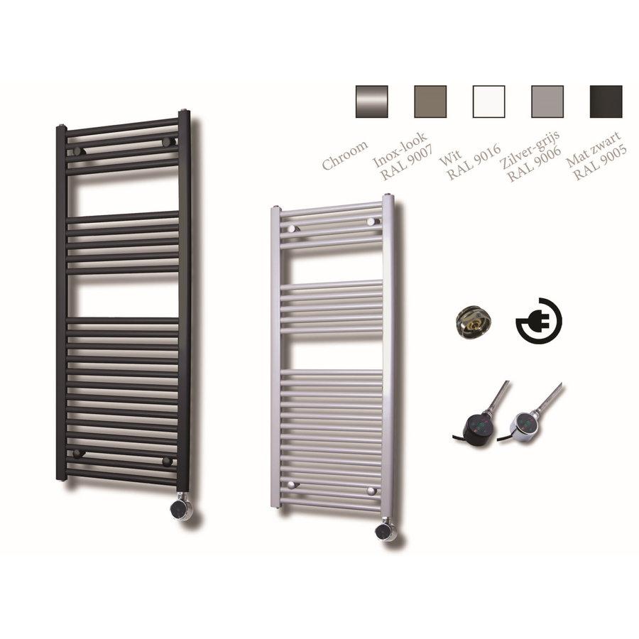 Elektrische Design Radiator Sanicare Plug En Play 111,8 x 45 cm Wit Incl Montage Set 596 Watt