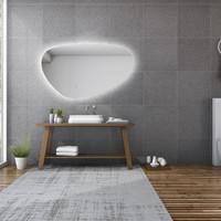 Spiegel Gliss Design Trendy Oval LED Verlichting