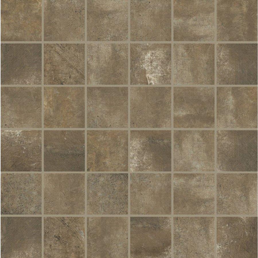 Mozaiek Douglas & Jones Matieres de Rex Manor 30x30 cm Brun per m2