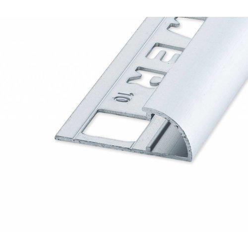 Tegelprofiel Rondex rond open mat zilver
